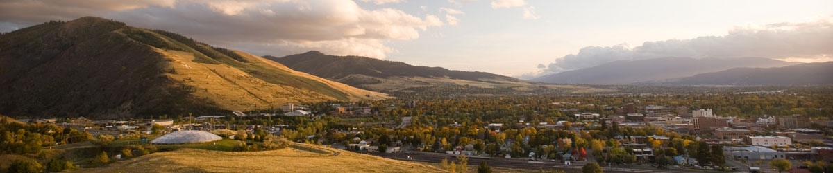 View of the Missoula valley.